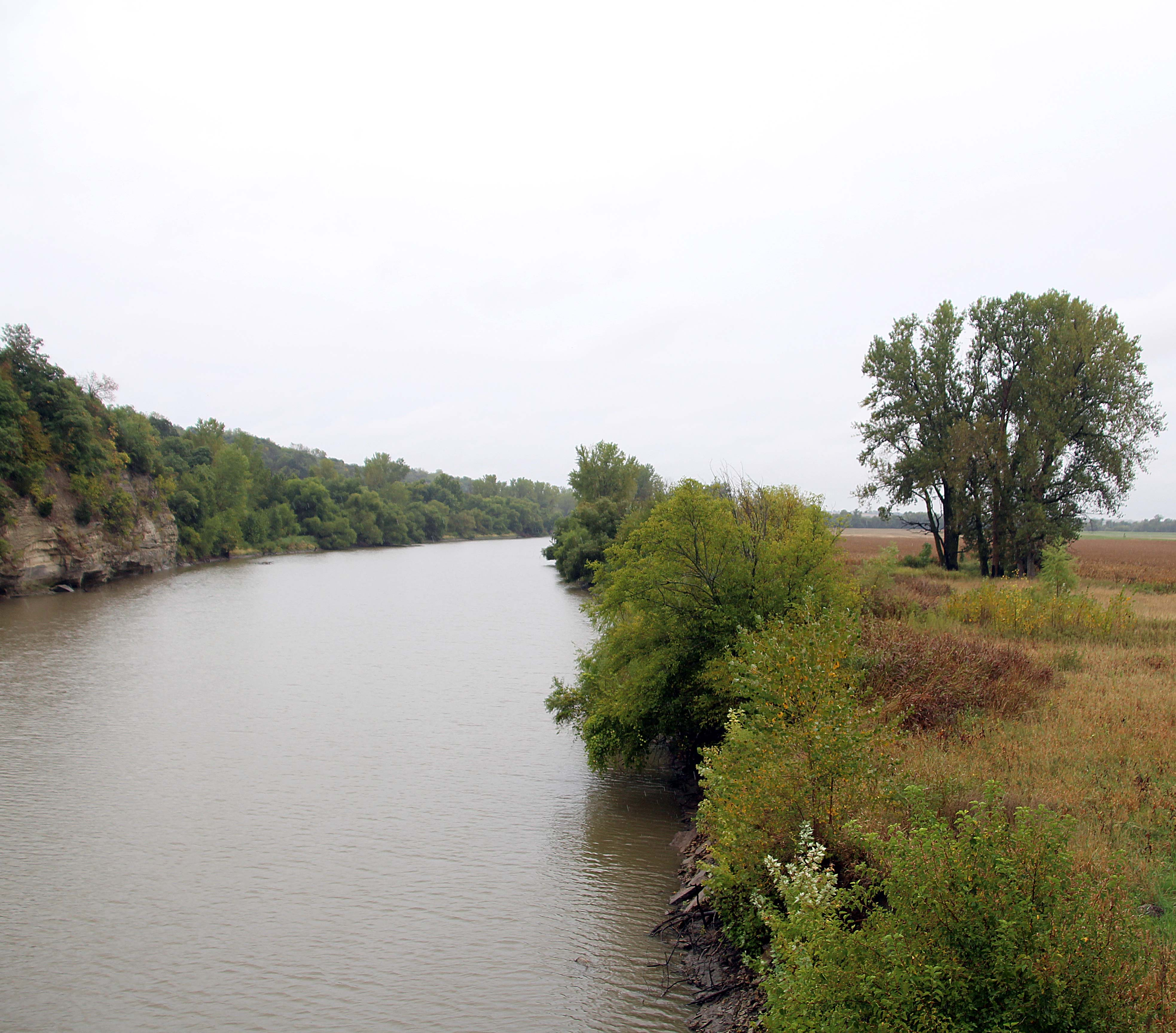 The Great Nemaha River on the Sac and Fox tribe's reservation.
